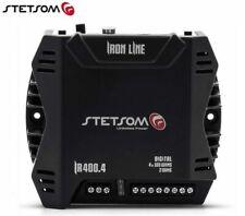 STETSOM IR400.4 2 ohms Iron Line Car Audio 400W Compact Amplifier 4 channel