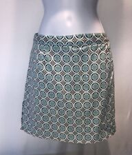 Allyson Whitmore Golf Petit Bohemian Allover Print Stretch Skort