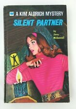 A Kim Aldrich Mystery Silent Partner Hardcover Book 1972 By Jinny McDonnell