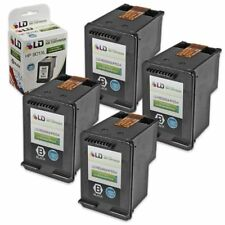 LD © Reman Replacement Ink Cartridges for HP CC654AN HP 901XL HY Black 4pk