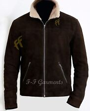 The Walking Dead Rick Grimes - Andrew Lincoln 100 Suede Leather Jacket- M