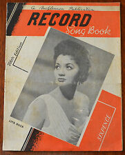 Record Song Book 206th Edition – Lita Roza, Rock Around The Clock