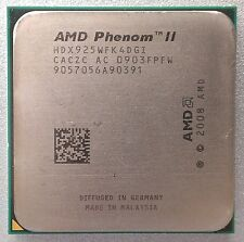 AMD Phenom II x4 925 Deneb Quad-Core 4x 2.8 GHz SOCKET am2+/am3 95w