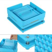 100 Holes Manual Capsul Fillings Machine Maker Filler Size 3 With Tamper Tool