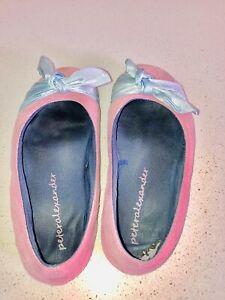 Size 7 Ladies Peter Alexander Slippers Well Worn Soles Ballet Sweaty Smell Pink