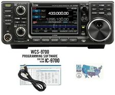 Icom IC-9700 VHF/UHF/1.2GHz Transceiver with RT Systems Programming Kit