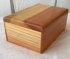 Medium Wood Pet Cremation Urn with Optional Engraving