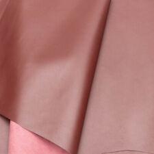 Burgundy Corrected Grain Leather 10.75 Sq Ft 1.2-1.4 mm Semi Firm Matt Finish