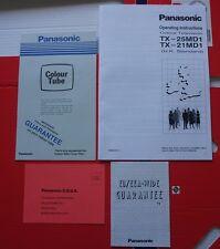 Panasonic 1990s 90s TV Television Handbook