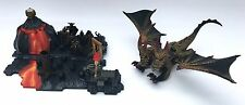 RARE MEGA Bloks Dragons-Fire Mountain Set