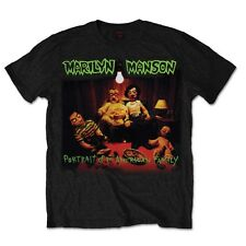 Official T Shirt Marilyn Manson Black American Family Unisex Band Tee All Sizes Small