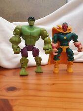 MARVEL Héroe Mashers visión y Hulk Paquete