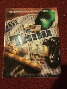 1994 Trenton Thunder Inaugural Season Yearbook Detroit Tigers First OLD MILB ES