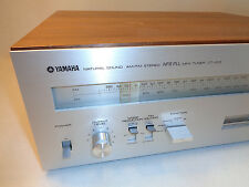 Vintage Tested Yamaha CT-1010 Natural Sound AM/FM Stereo NFB PLL MPX Tuner