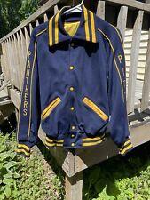 vintage pitt panthers varsity jacket, college football, pittsburgh, steelers