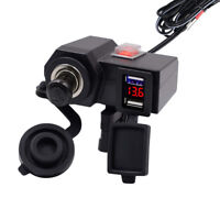 Motorbike Motorcycle GPS sat nav USB Charger Power Adapter Socket Waterproof