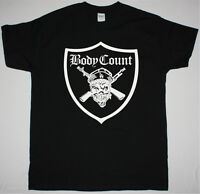 BODY COUNT SYNDICATE BLACK T SHIRT ICE-T RAPCORE HEAVY METAL CYPRESS HILL S-XXL