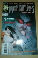 Midnight sons unlimited 2 signed by gary cohn marvel comics ghost rider morbius