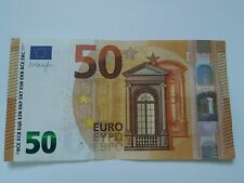 50 euro € banknote real currency Euro bill good condition Circulated