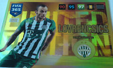 PANINI ADRENALYN XL FIFA 365 2017 Limited Edition LOVRENCSICS