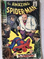 MARVEL AMAZING SPIDER-MAN #51 - COVER AND 2nd APPEARANCE KINGPIN 1967  US Cent