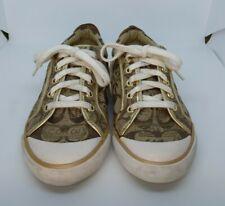 Coach Barrett Sneaker Size 6B Gold
