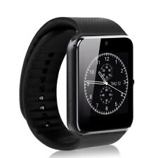 Smartwatch Bluetooth Armband Uhr + Kamera SIM Handy iOS iPhone Android - schwarz