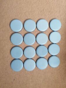 Round PTFE Teflon Furniture Glides - Self Adhesive - Gliders - SCS DFS Sofa 50mm