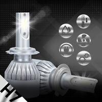 XENTEC LED HID Headlight kit H7 White for Volkswagen Golf Sportwagen 2010-2013