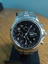 Maurice Lacroix Croneo Chronograph Automatic Stainless Steel with Black Dial