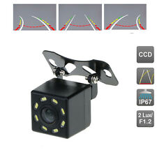 Universal Rear View Camera Dynamic Guidance Line with 8 LEDs Night Vision