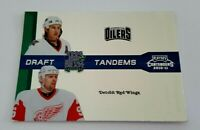 2010-11 Playoff Contenders Draft Tandems Tomas Holmstrom Ryan Smyth Wings Oilers