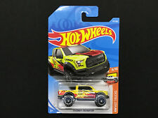 2018 Hot wheels '17 Ford F-150 Raptor >Case H #175 /365 Yellow