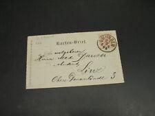 Austria 1896 Gmunden letter card *126