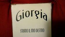 GIORGIA - STRANO IL MIO DESTINO. PROMO CD SINGOLO 1 TRACK . RARO!
