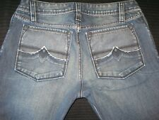 Diesel Jeans Zaf Low Bootcut Distressed Wash 8IW Sz 30 X 27