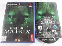 Enter The Matrix PS2 Playstation 2 MINT DISC