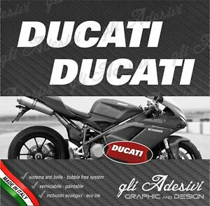 2 Adhesives Hip Fairing Motorcycle DUCATI 1098