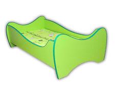 Children Bed 7 colours, Toddler Junior Bed For Kids + mattress 160x80cm + Pillow