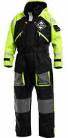 Fladen Flotation Suit, Warm, Waterproof FLOATION SUIT  BLACK & YELLOW XL