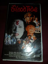 Blood Tide - VMP 5289 - VHS - Hülle + Cover ohne Kassette!