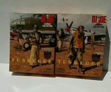 GI Joe Tuskegee Fighter & Bomber Pilot Set Classic Collection 1996 Kenner NRFB