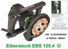 Eibenstock Betonschleifer EBS 125.4 O + Beton Schleiftopf 125mm Estrichschleifer