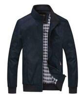 Zipper  Men's Slim collar jackets fashion jacket Tops Casual coat outerwear