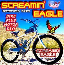 "2-STROKE 66cc/80cc MOTORIZED BIKE KIT AND 26"" BICYCLE DIY FOR MOTOR BIKE POWER"