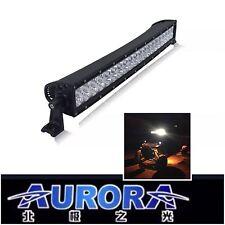 "30"" AURORA OFF-ROAD LED LIGHT BAR CURVED COMBO BEAM 300W 16,800 Lumens UTV/ATV"