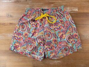ETRO paisley motif swim shorts authentic - Size Small - NWT