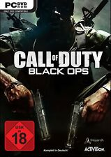 PC Game Call of Duty:Black Ops 1 DVD Shipping NEW