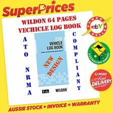 WILDON◉87W POCKET SIZE VEHICLE LOG BOOK◉ATO NRMA COMPLIANT◉64 PAGES◉CAR◉TRUCK◉Oz