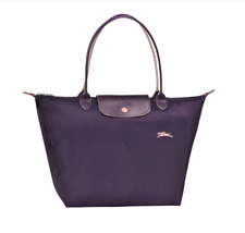 Authentic Longchamp Le Pliage Club Tote Bag Large Bilberry